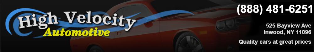High Velocity Auto Sales